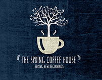 The Spring Coffee House branding & identity