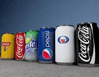 Mega pack Soda Cans