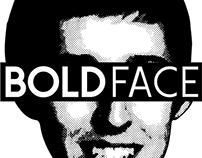 BoldFace AIGA Student Group Logo