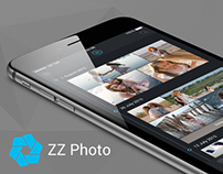 ZZ Photo iOS 8 App Interface