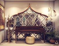Oriental Bed Room