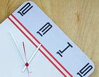 Clock One by designer Vladimir Ogorodnikov