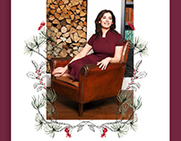 Nigella's Favorite Things editorial illustration