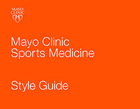 Mayo Clinic Sports Medicine - Style Guide