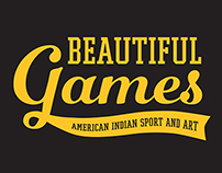 Beautiful Games: American Indian Sport and Art Logo