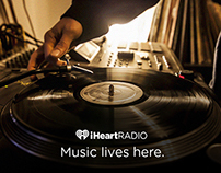 iHeartRadio We Love Music Campaign