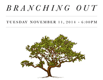 Branching Out Gala Invitation Package