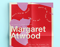 Lecture Poster | Margaret Atwood