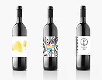 Packaging - Étiquettes de bouteilles de vin