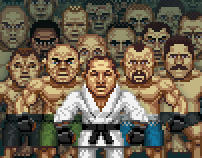 Pixel UFC Fighters