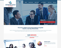 Website Layout for GrowMore Group