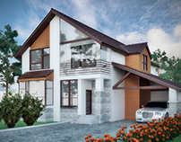 Моделирование и рендер дома