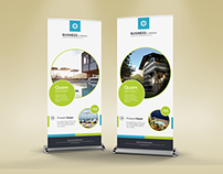 Clean & Creative Multipurpose Roll-Up Banner