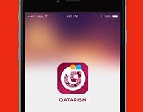 Qatarism- Mobile App UI Design