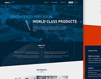 HenHex One Page Website
