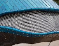 Le Meccano sait faire de belle baleines bleues