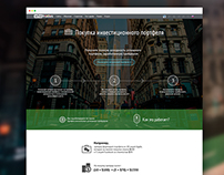 Landing Page for service of WhoTrades.com