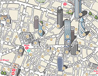 The City of London illustrated map