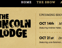 The Lincoln Lodge {Website Redesign}