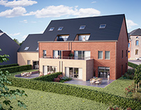 House in Lincent (Belgium)