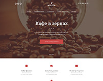 Landing Page Coffee Beans