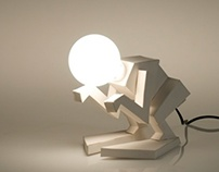 Lampster - Paper Lamp Project