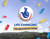 The National Lottery—20th Birthday