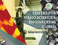 Brochure Design: Centre for Nano Science & Engg, IISC