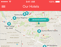 homepage capture the current location of the user