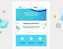 EAS water filters / UX&Web design