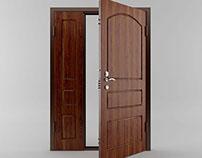 3D Door double