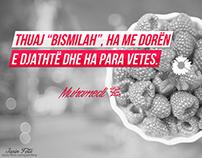Thënie nga Muhamedi s.a.v.s