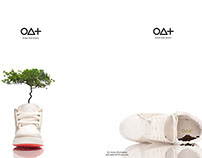 OAT shoes advertising campaign