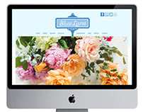 Blue Lane Events Website