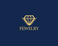 """Jewelry """"FEWELRY"""" (Logo & Product Photography)"""