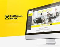 Raiffeisen Bank redesign concept