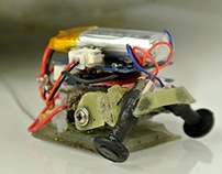 Micro-Tugbot for Stanford BDML Research Lab