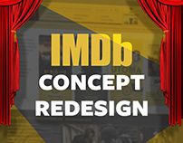 IMDb WEBSITE CONCEPT REDESIGN