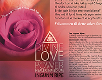 Divine Love Power - Healer & Medium - Poster/Roll-Up