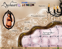 By Heart underwear - Logo and Web Design