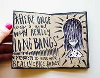 The Girl with Long Bangs