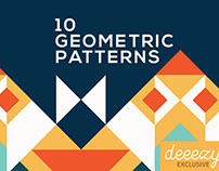 FREE Colorful Geometric Patterns