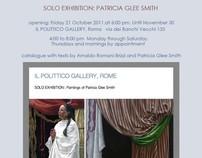 solo show  il Polittico Gallery   Rome, 21 Oct. 2011