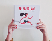 Run Run - Children's Book