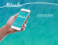 Wandr Smartphone App and Smart Object