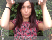 Another pixeled girl