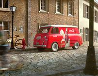 Fiat 600 M Coriasco Furgone Coca Cola 1957