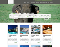 Travel Company Template