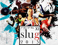 Poster Designs for Sri Lnankan University Games 2013
