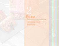 Contemporary Tradition Series 2 - Purse (Coin & Card)